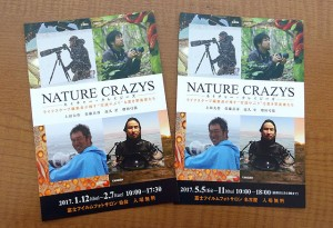 NATURE CRAZYS案内ハガキ
